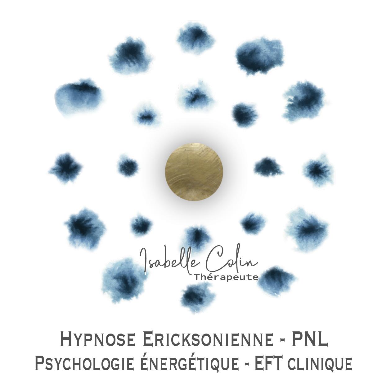 LOGO Isabelle Colin Thérapie brève - PNL-Hypnose-Psychoénergétique - Eft clinique