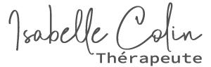 Signature Isabelle Colin Thérapeute